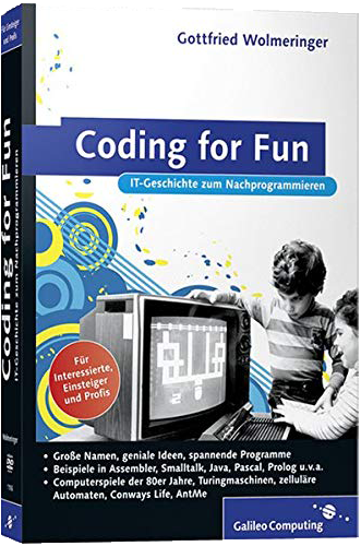 Gottfried Wolmeringer - Coding for fun Cover